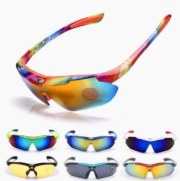 ROBESBON UV 400 Bicycle Cycling Glasses Eyewear Sunglasses Men Gafas Ciclismo Oculos De Grau Masculino Bike Eyeglass #235246