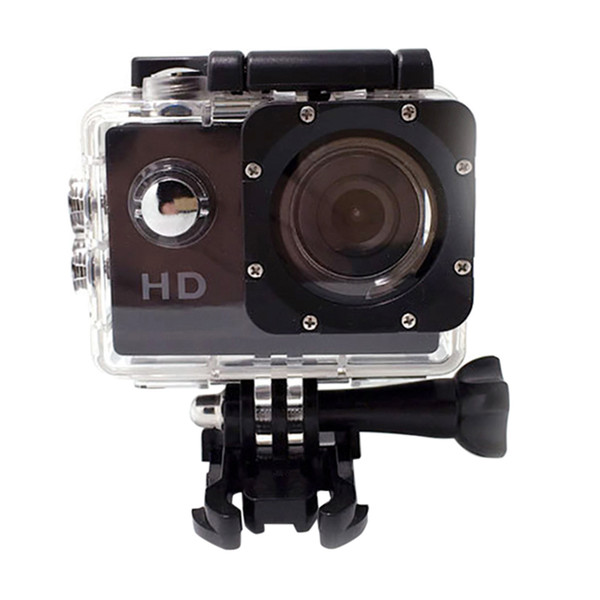 Action Camera Sport Camera HD 1080P Adjustable Underwater Recorder Sports Cameras For Swimming Surfing Diving