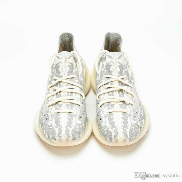 2019 Released Authentic Boost 380 Alien Black Kanye West Man Woman Running Shoes Sports Sneakers 19yeezy With Original Box FB6878