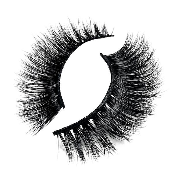 kanbuder False Eyelashes Simple à utiliser Convient pour les fêtes ou les professionnels False lashes dropship Nov5