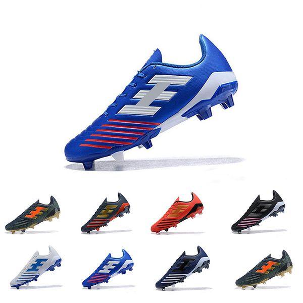 FG Men Triple Blue Soccer Shoes Cleats Hypervenom Phantom DF Soccer Neymar IC Football Cleats Mens Trainers Designer Shoes Size 39-45