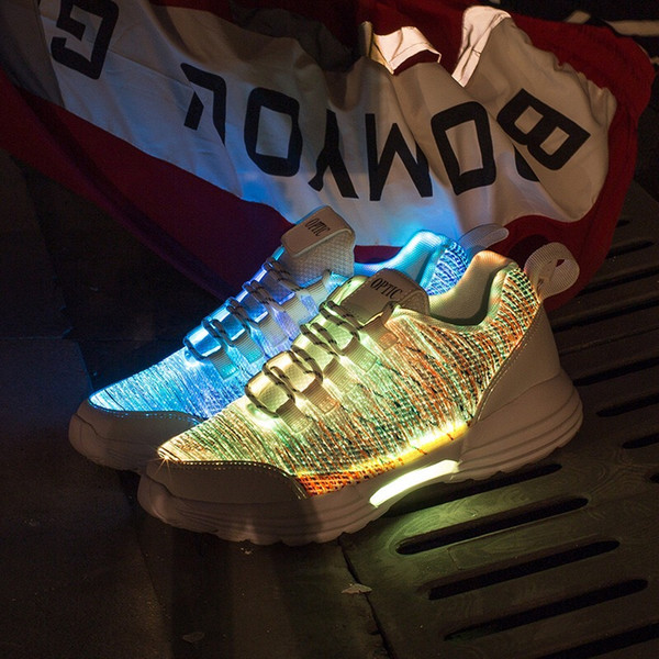 designer fashion great look hot product LED Trainers Night Running Shoes Factory Direct Colorful Luminous ...