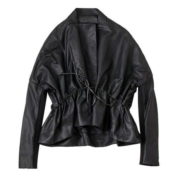 2019 Women New Fashion Genuine Leather Jacket Sheepskin Leather Coat Autumn Spring Ladies Slim Loose Style Real Jacket