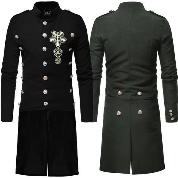 Erkekler Elbise, Uzun rüzgarlık, Erkek Yaka Saç, rüzgarlık, Coat, Giyim, Kış Elbise. Erkek Kış ceketler