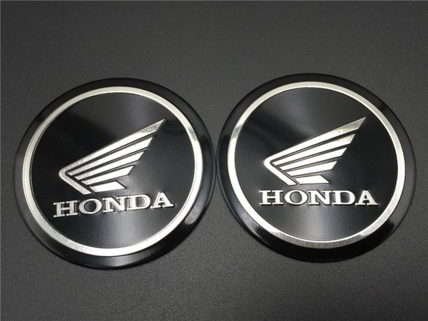 best selling 55mm Fuel Gas Tank Emblem Decal Tuning Wing Logo for Honda Fairing Badge Racing Bike Motorcycle Stickers