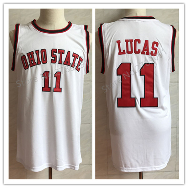 2019 11 Jerry Lucas Ohio State Buckeyes College Retro Classic Basketball Jersey Mens Stitched Jerseys From Yufan5 29 44 Dhgate Com