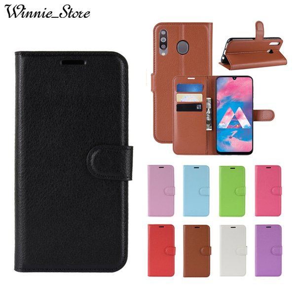 For Samsung Galaxy M30 M20 M10 J8 J7 J6 J4 J3 J2 Pro 2018 Plus J7 Duo MAX Leather Wallet Smart Phone Case with Card Slots Coque