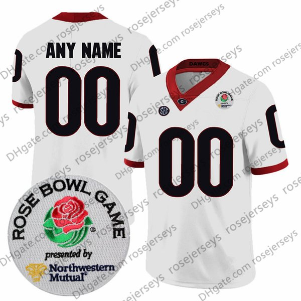 Bianco con patch Rose Bowl