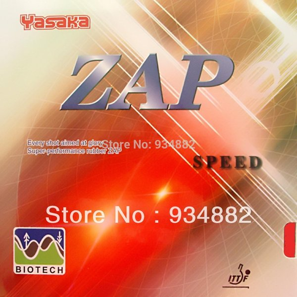 Yasaka ZAP SPEED BIOTECH Pips-In Table Tennis PingPong Rubber with Sponge NO ITTF