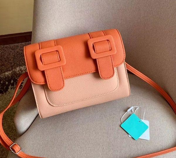 Sweet color matching women shoulder bag Crossbody luxury designer handbags brand design patent leather female shoulder bag Messenger bags