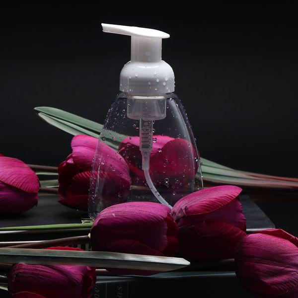 Foaming Soap Pump Shampoo Dispenser Lotion Contenant de Bouteille en Mousse Liquide Portable Blanc / Clair Nouveau