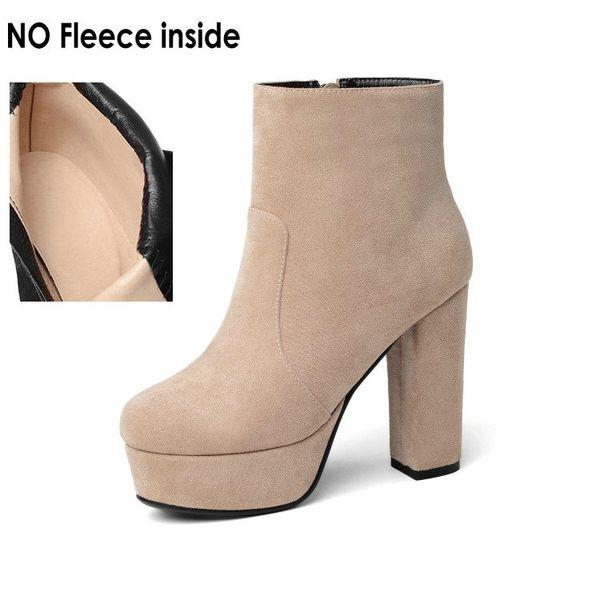 beige-no fleece