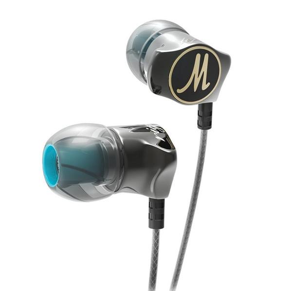 Recém fones de ouvido qkz dm7 edição especial banhado a ouro habitação fone de ouvido ruído isolando hd hifi fone de ouvido auriculares fone de ouvido