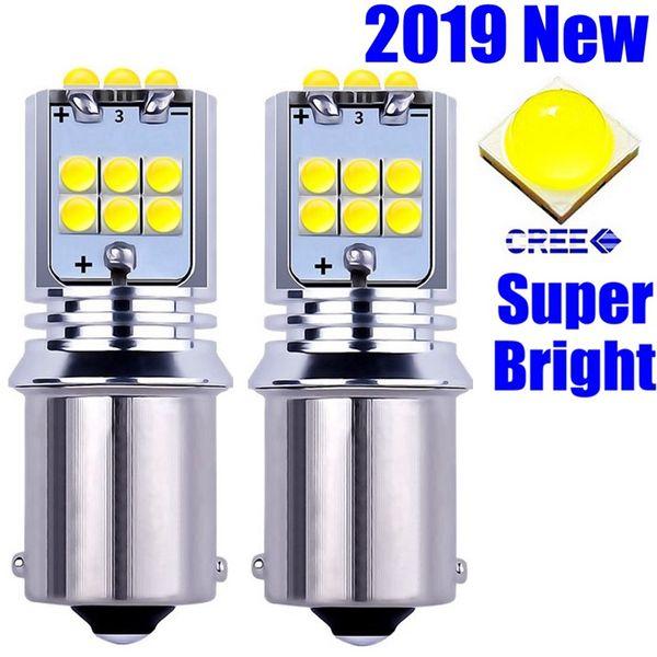 2шт 1156 ba15s 7506 P21W категории r10w Обломоки Cree LED автомобилей сигнала поворота тормоза хвост свет лампы авто заднего обратный лампа дневного света