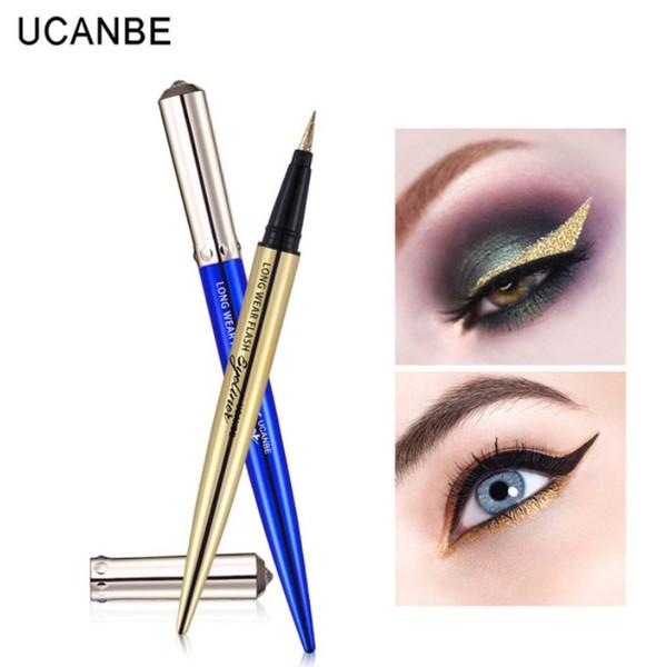 Quality 5 Color Long Lasting Glitter Liquid Eyeliner Pencil Easy To Wear Eye Liner Pen Beauty Makeup Waterproof Best Eye Liner Pen Cosmetic