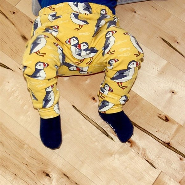 Baby Pants Toddler Baby Boys Girls Kids Cute Cartoon Animal Elastic Waist Pants Leggings Clothes NDA84L24