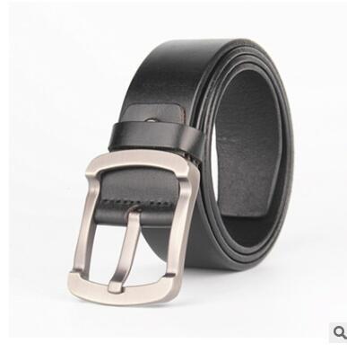 Cinturones 2019 Hot Fashion Men Belt Designer 2015 Cuero de Vaca Cinturones de cuero genuinos para hombres Marca Correa Hombre Pin Hebilla Fancy Vintage Jeans