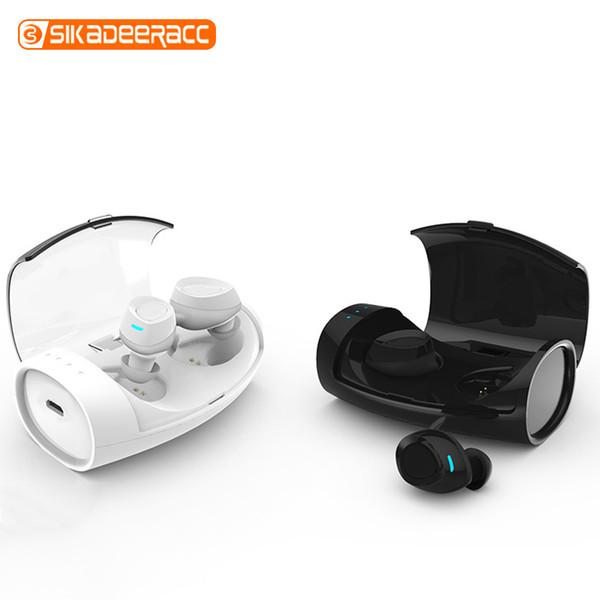 IPX4 Водонепроницаемые наушники-вкладыши Bluetooth-гарнитура Анти-пыли Легкая беспроводная зарядка Box Удобная гарнитура для наушников для телефона ноутбука