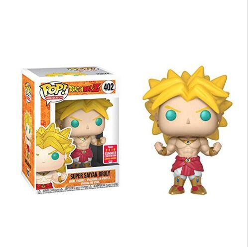 Funko pop Amine Dragon Ball SUPER SAIYAN BROLY Vinyl Action Figure Collectible Model Toys for children birthday gifts