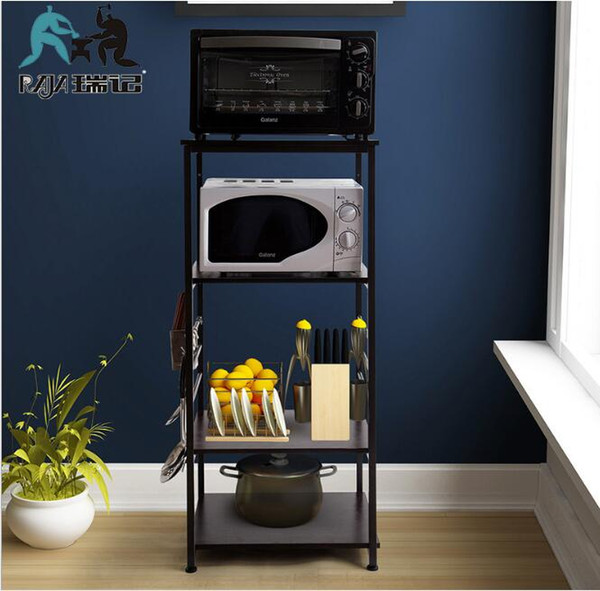 2019 Multi Purpose 4 Tiers Metal Microwave Oven Rack Kitchen Bakers Shelf  From Fairyfushop, $73.37 | DHgate.Com