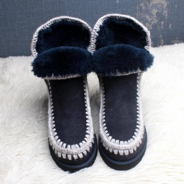 Martin australienne femmes bottillons chaussures de mode pour les amoureux des chaussures vintage luxe fourrure en cuir rose kanye / bleu / noir shippping rapide