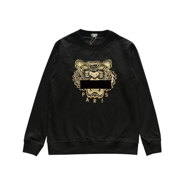 Marca Tiger Head Hoodie diseñador bordado hombres mujeres sudaderas otoño invierno Unisex lujo Hoodies Casual Streetwear Jogger chándal