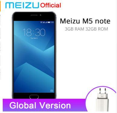 "DHL Original Meizu M5 Note Global ROM 2.5D Glass 4G LTE Cell Phone Helio P10 Octa Core 5.5"" FHD 3GB 16GB/32GB ROM Fingerprint"