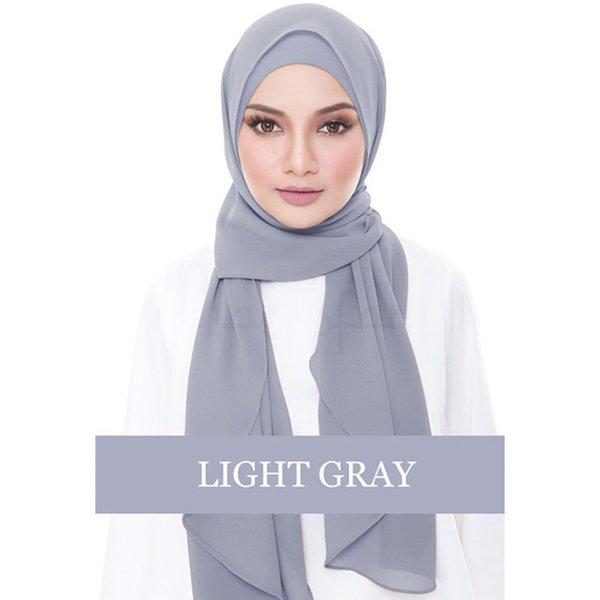 Grey Hijab 4XL
