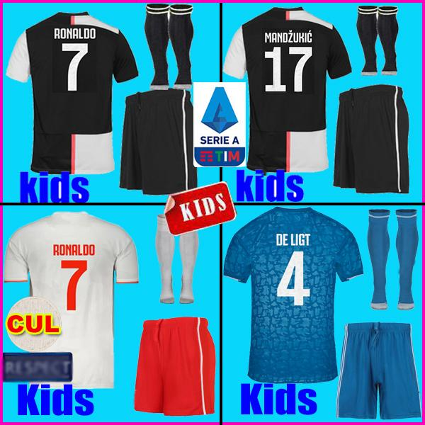 2019 2020 Fußball-Trikot Kinder Kit 19 20 Trikots für Kinder Fußballtrikots kids kit