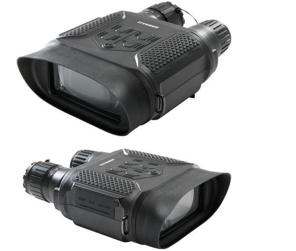 Eew Eyebre Gece Görüş Dürbün Teleskop 400 M 7X Kızılötesi Avcılık Optik Sight Dürbün ile Dijital HD Kamera Video Kaydedici
