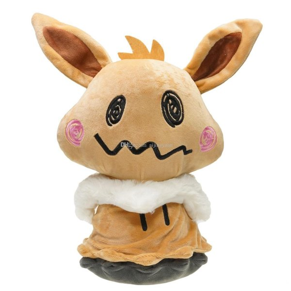 "Hot Sale 8"" 20cm Mimikyu Cosplay Eevee Umbreon Espeon Jolteon Vaporeon Sylveon Flareon Plush Stuffed Doll Toy For Kids Best Holiday Gifts"