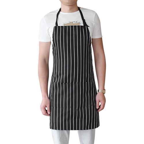 Nuovo grembiule da cucina regolabile per donna Uomo Chef Cameriere Cafe Shop BBQ Parrucchiere Grembiuli Cameriere per cucina domestica Cuoco