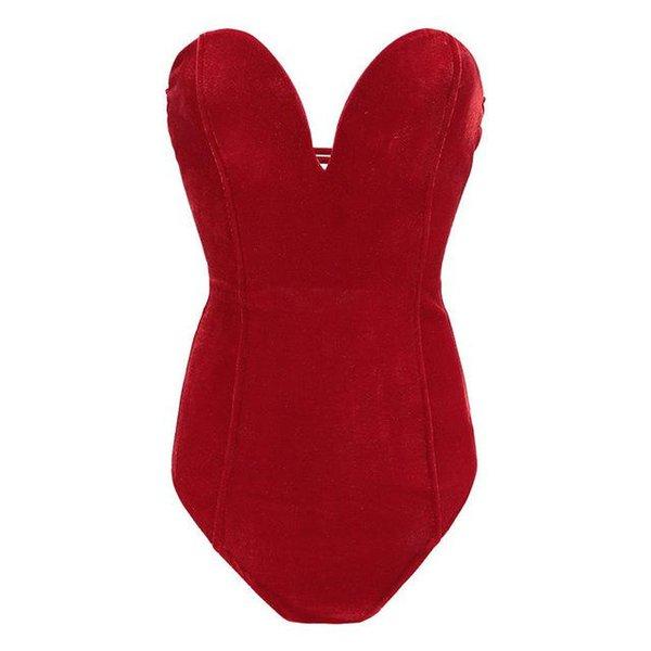 Rosso, fondo a body