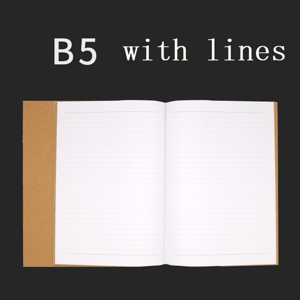 B5 with lines