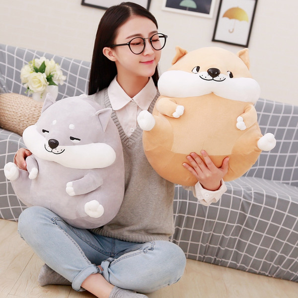 little plush toys Miaoowa 32 cm nice corgi dog plush toys stuffed animals cartoon cushions as a christmas present for children's day