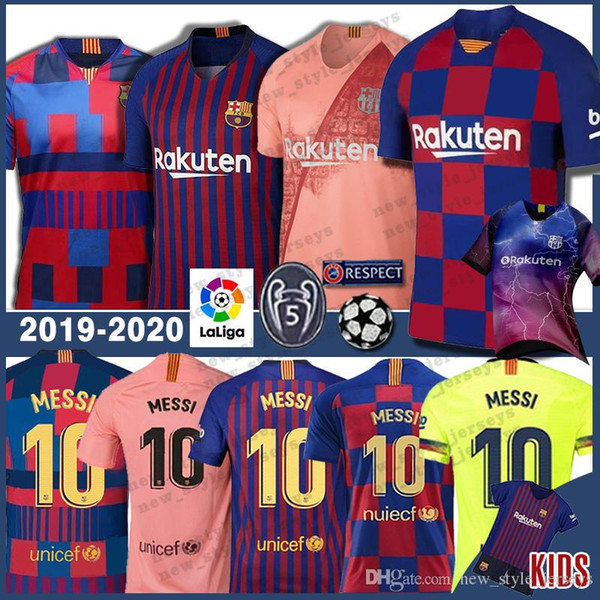 watch 162f3 11977 2019 Third 10 Messi 19 20 Men Barcelona Soccer Jersey Kids 8 Iniesta 14  Coutinho 23 Umtiti Woman Messi Football Uniforms From New_style_jerseys, ...