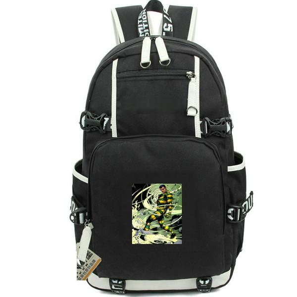 Sac à dos Top sac d'école Roscoe Dillon Sac à dos imprimable super héros Sac d'école informel Sac à dos porte à dos Sac de sport