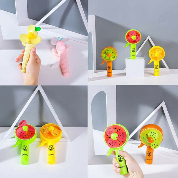 Enfriamiento Manual del Estudiante ventilador de la mano portátiles aficionados plástico de los niños portátil Mini Reino Unido