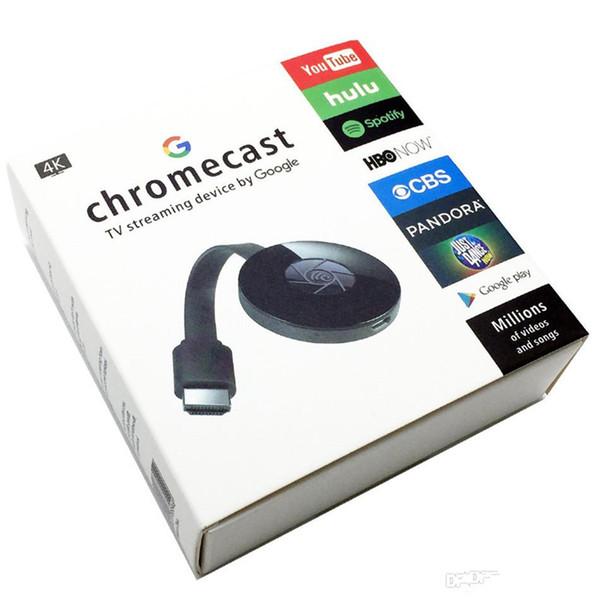 TV HD 1080P HD MiraScreen G2 WiFi Ricevitore Dongle Ricevitore Airplay Miracast Media Streamer Adattatore Media per Google Chromecast 2
