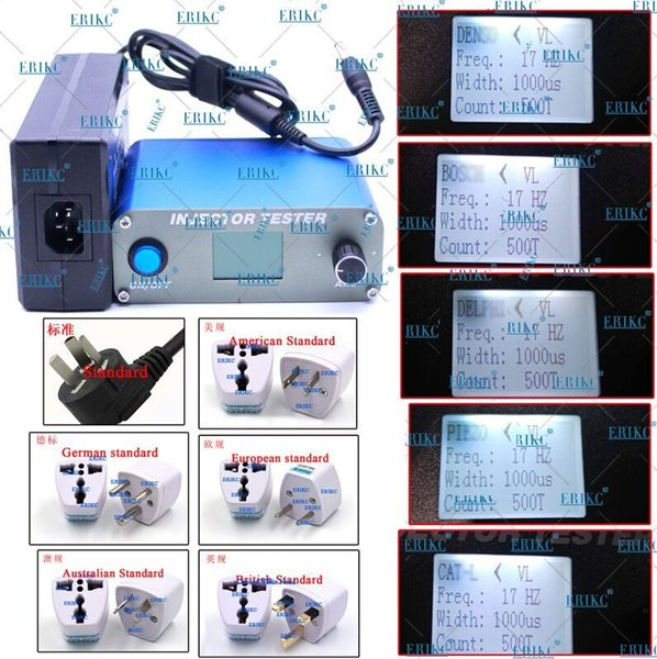 ERIKC Common Rail Pump Fuel Piezo Injector Tester Machine Simulator High Quality Piezo Fuel Injection Tester
