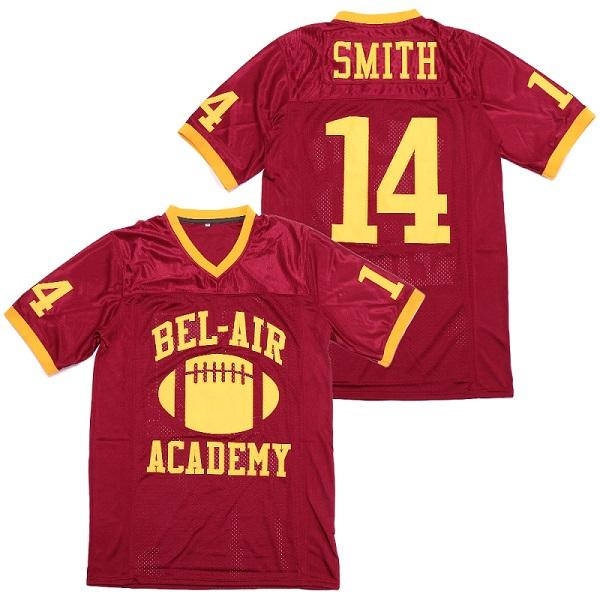 14 Red Football jersey