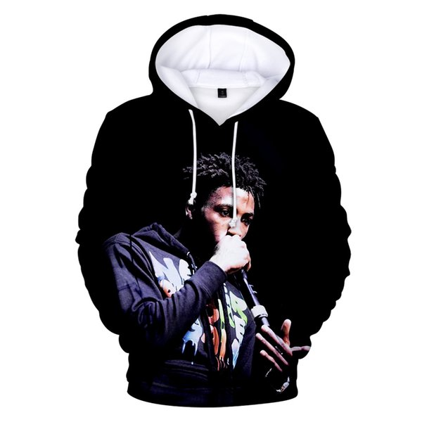 2019 HIP HOP FASHION Blueface Hoodies 3D Print Casual Sweatshirts Hot Sale Harajuku Long Sleeve Hip Hop Clothes Hooded