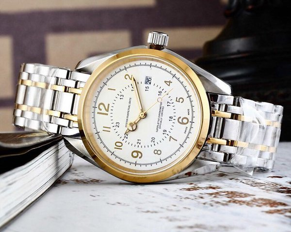 Luxury classic man watch 40mm 2019 hot new Mechanical movement mens watches ceramic watch imported mechanical movement