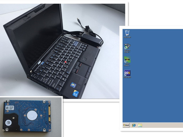 Auto soft-ware 2018 best quality alldata 10.53 m,itchell on d,emand 5.8 atsg 3in1 hard disk 1tb with laptop X201 used ram 8g