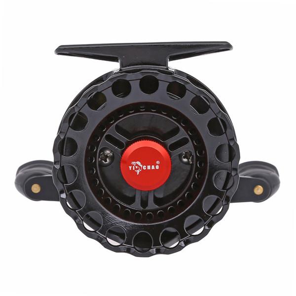 Woen plastiques techniques de haute Résistance L65 roue de pêche vitesse spécifique: 3,6: 1 lac pêche roue Micro-fil roue polaire Raft