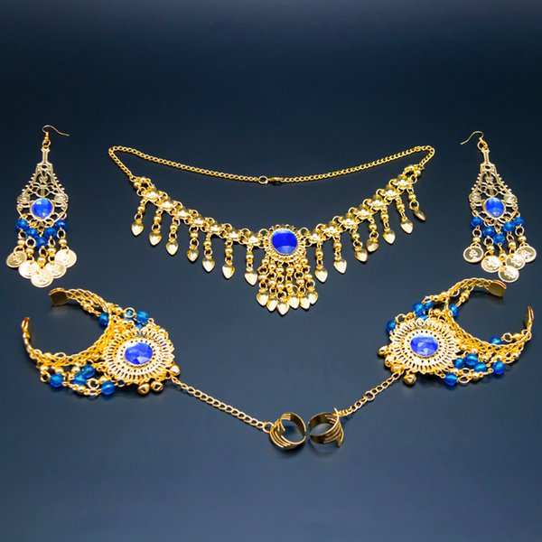 Royal blue-5pcs set