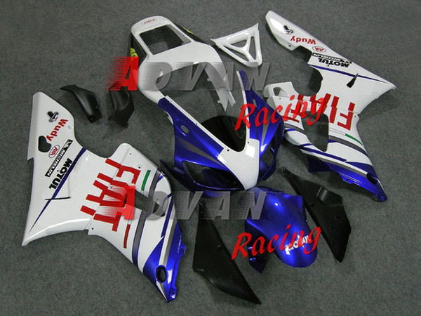 3Gifts New ABS Motorcycle Fairing kit for YAMAHA YZF R 1 98 99 YZF R 1 1998 1999 YZF1000 yzf r1 98 99 Fairings set red blue