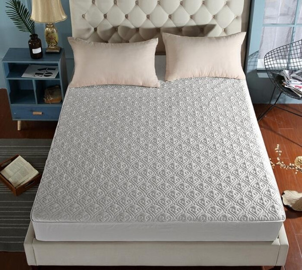 Lenzuola in cotone Luxury Hotel Quality Topper Materassino in microfibra Air Flow ultra soffice Lenzuolo con angoli in cotone King Queen Twin