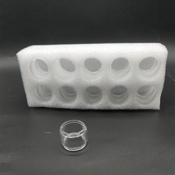 Bulb Fat Boy Convex Extensão tubo pirex de vidro para TFV2019 Vape Pen 22 mais Nord 19 22 TFV12 Príncipe