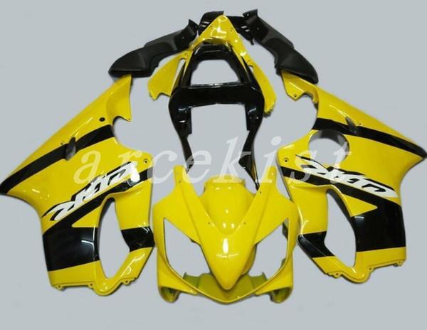Nuevo molde de inyección ABS motocicleta bicicleta kits de carenados aptos para HONDA CBR600F4i 01-03 2001 2002 2003 conjunto de carrocería personalizado carenado amarillo negro